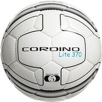 Precision Cordino Lite Match Football 370g White/Black Size 5
