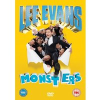 Lee Evans Monsters Live DVD