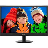 Philips 19.5 Inch LCD Monitor with LED Backlight 1600x900 (Black)