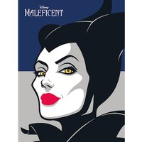 Maleficent - Face Canvas