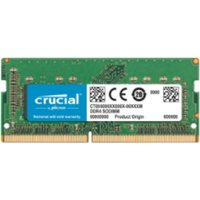 8GB Crucial DDR4 PC4-19200 2400MHz CL17 1.2V SODIMM for