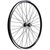 Wilkinson 26 x 1.75 MTB Black Double Wall Solid Axle Front Wheel