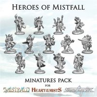 Heroes of Mistfall Minatures Pack Board Game