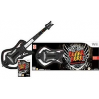Guitar Hero 6 Warriors of Rock Game Includes Wireless Guitar Controller