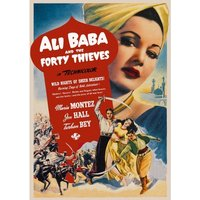 Ali Baba And The Forty Thieves DVD
