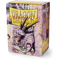 Dragon Shield Matte- Lilac 100 Sleeves In Box Limited Edition - 10 Packs