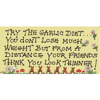 Try The Garlic Diet… Pack Of 12