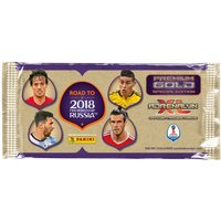'Road To World Cup 2018 Football Trading Cards Premium Gold Pack