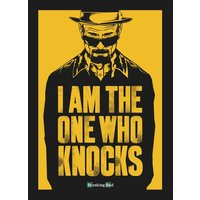 Breaking Bad - I Am The One Who Knocks Postcard
