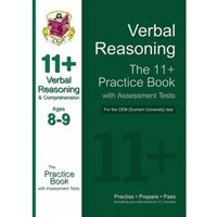 11+ Verbal Reasoning Practice Book with Assessment Tests (Age 8-9) for the CEM Test