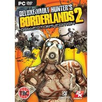 Borderlands 2 Deluxe Vault Hunters Collector's Edition Game