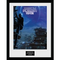 Ready Player One One Sheet Framed Collector Print
