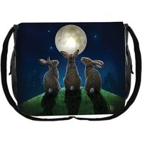 Moon Shadows Messenger Bag