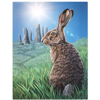 Small Solstice Canvas Picture by Lisa Parker