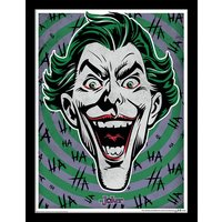 The Joker - Hahaha Framed 30 x 40cm Print