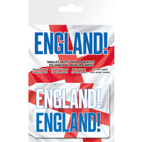 England Come On Card Holder