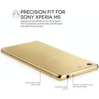 YouSave Accessories Sony Xperia M5 0.6mm Gel Case - Clear