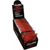 Ultra Pro Standard Size 50 Deck Protectors Box Red Case of 12