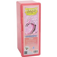 Dragon Shield Storage Box With 4 compartments - Pink
