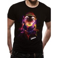Valerian - Valerian Helmet Men's Large T-Shirt - Black