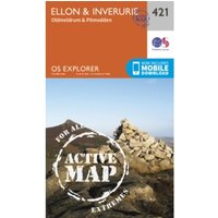 Ellon and Inverurie by Ordnance Survey (Sheet map, folded, 2015)