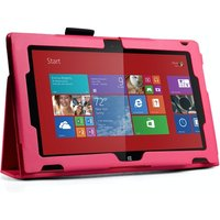 YouSave Accessories Nokia Lumia 2520 Leather-Effect Stand Case - Hot Pink