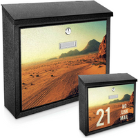 Desert Printed Mail Box - add your  house number / name for a unique mail box!