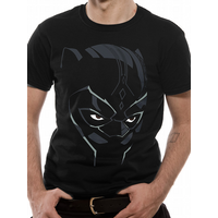 Black Panther Movie - Comic Face Men's X-Large T-Shirt - Black