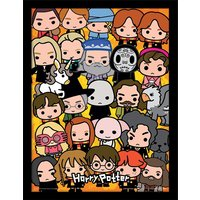 Harry Potter - Chibi Collection Framed 30 x 40cm Print