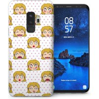 CASEFLEX SAMSUNG GALAXY S9 PLUS GIRLY MOOD SWINGS CASE / COVER (3D)