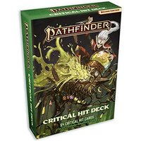 Pathfinder RPG Second Edition Critical Hit Card Deck