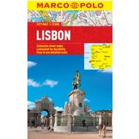 Lisbon Marco Polo City Map by Marco Polo (Sheet map, folded, 2013)
