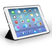YouSave Accessories iPad Air Leather Effect Stand Case - Black
