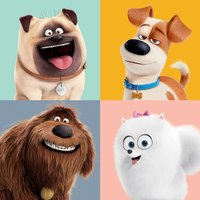 The Secret Life of Pets - Character Split Canvas