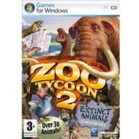 Zoo Tycoon 2 Extinct Animals Expansion Pack Game