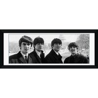 The Beatles White House Framed Photographic Print