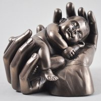 Sweet Dreams Baby Cold Cast Bronze Sculpture