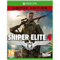 Sniper Elite 4 Limited Edition Xbox One Game