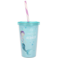Small Mermaid Drinks Cup Pack Of 6