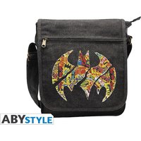 Dc Comics - Batman Logos Small  Messenger Bag