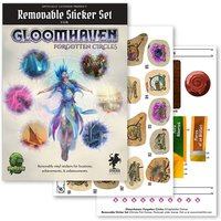 Image of Gloomhaven: Forgotten Circles Removable Sticker Set