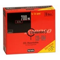 Intenso CD-RW 700MB / 80min, 12x CD-RW 700MB 10pc(s)