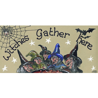 Witches Gather Here Pack Of 12