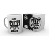 Let There Be Gin - Don't Spill It Mug