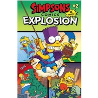 Simpsons Comics: 2: Explosion by Matt Groening (Paperback, 2017)
