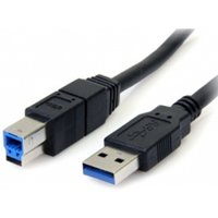 3m Black SuperSpeed USB 3.0 Cable A to B - M/M