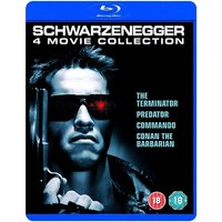 Arnold Schwarzenegger Collection - The Terminator Predator Commando Conan The Barbarian Blu-Ray