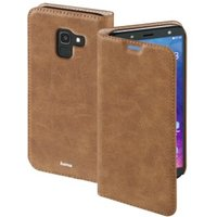 Hama Guard Case Booklet for Samsung Galaxy J6 (2018), brown
