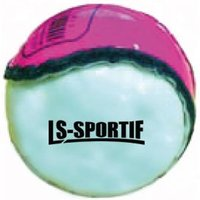 Image of LS Sportif Hurling Club and County Sliotar Ball Pink/White - Adult