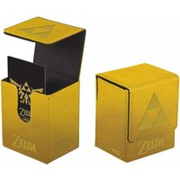 Ultra Pro The Legend of Zelda: Gold Tri-Force Flip Deck Box